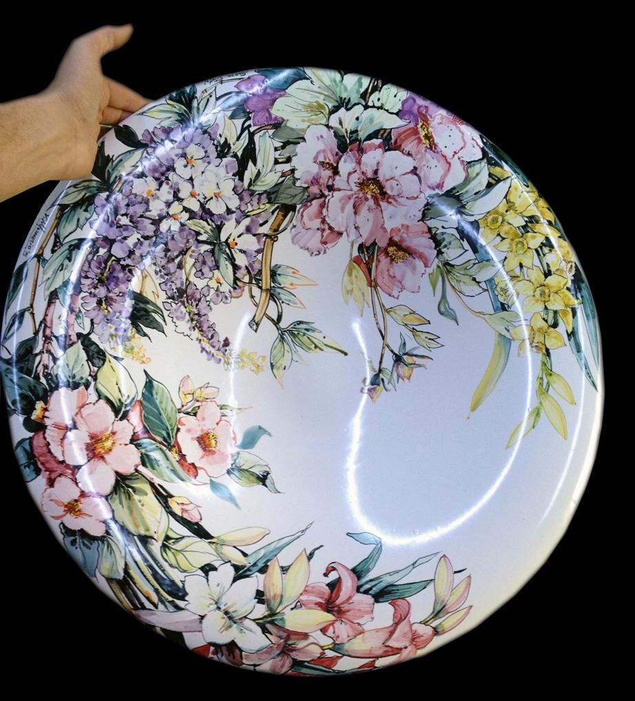 piatto 60 cm fiori copia